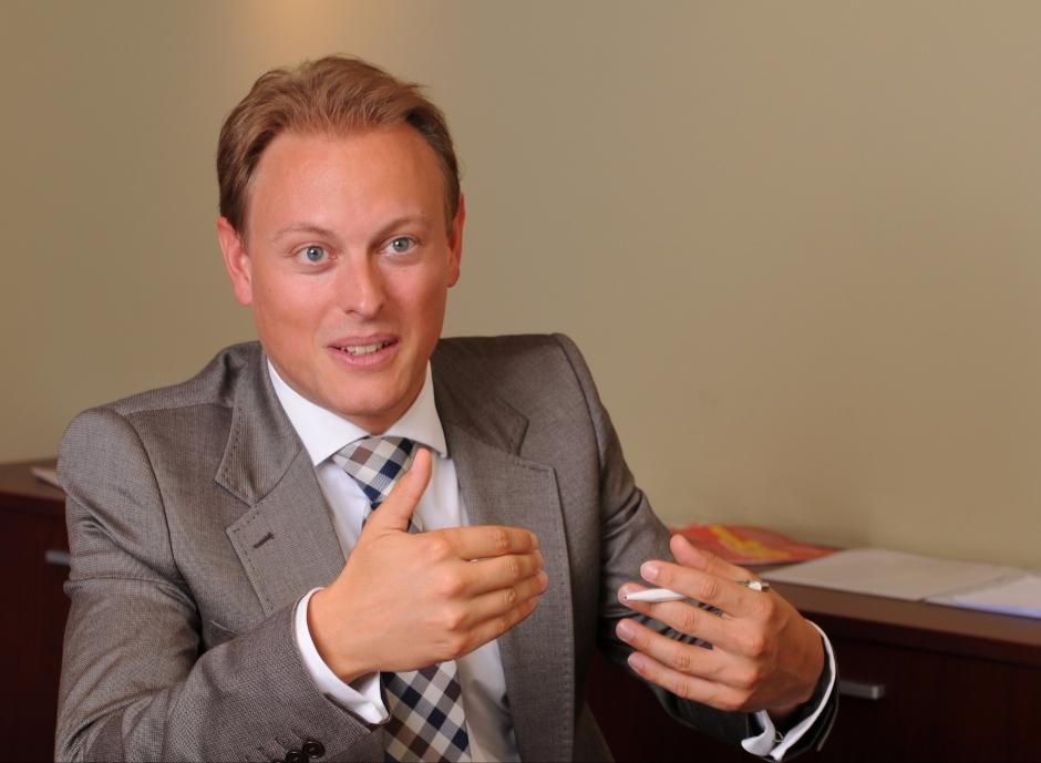 CEO Helvetia Asia Tom Ludescher