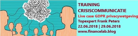 Training crisiscommunicatie